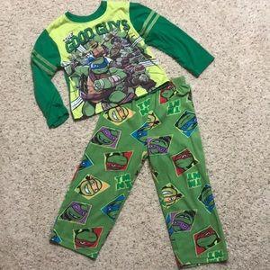 Boys Teenage Mutant Ninja Turtle Pajamas